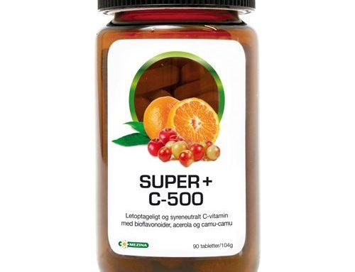 C-vitaminer. Pillen der kan ændre dit liv…